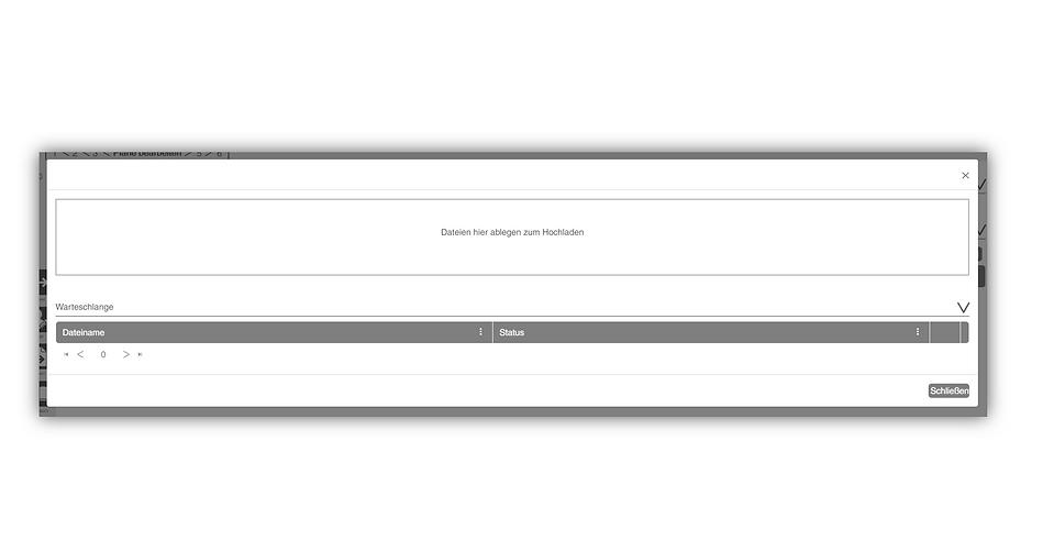 Dateiupload mit Warteschlange