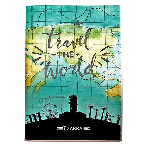 izakka Notebook travel world