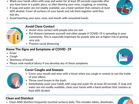 How to Protect Yourself During the COVID-19 Outbreak
