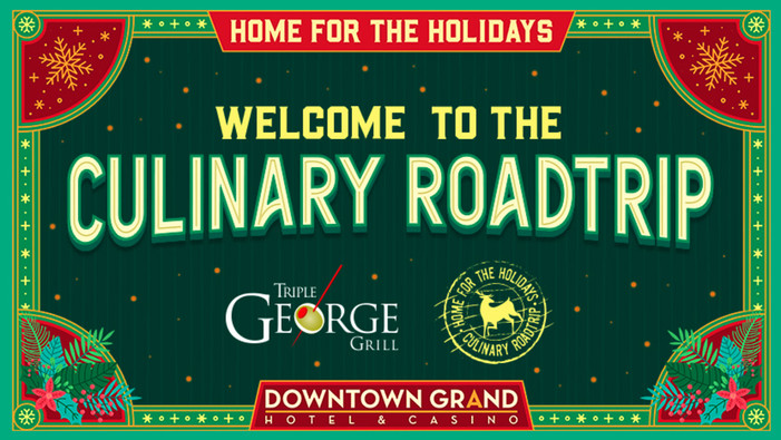 "Culinary Road Trip Makes Final Stop of the Year: ""Back Home"" for the Holiday Season"