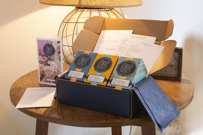 """Steep Echo Tea Announces """"Home For The Holidays"""" Gift Box"""