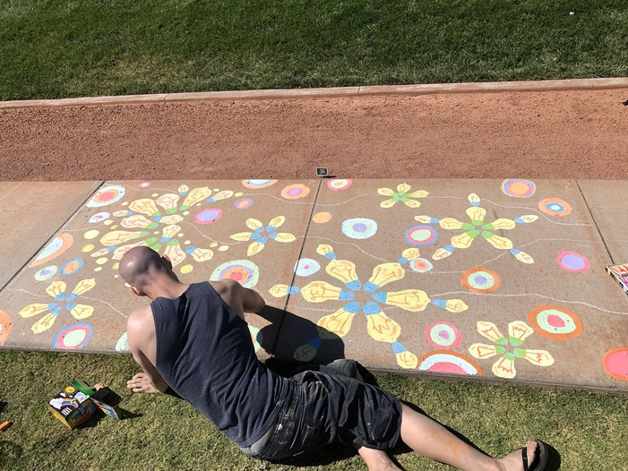 Call For Artists: Registration Now Open for Skye Canyon's Annual Juried Chalk Art Competition