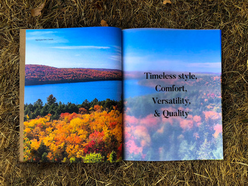 Book design for Canadian brand Roots