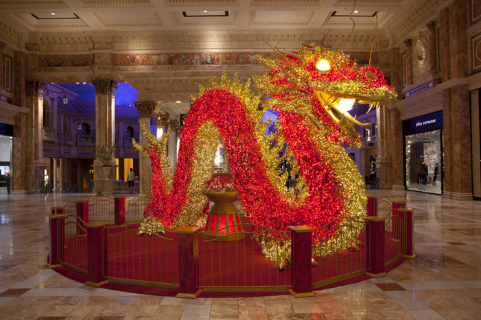 Giant Illuminated Dragon, 24th Annual Meadows School Parade, Special Retail Offerings And Red Envelo
