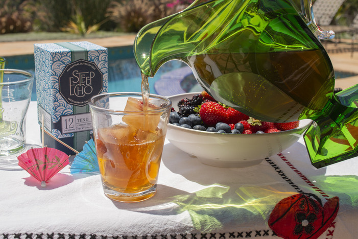 Steep Echo Tea Announces Summer's New Secret Ingredient: Olive Leaf Tea