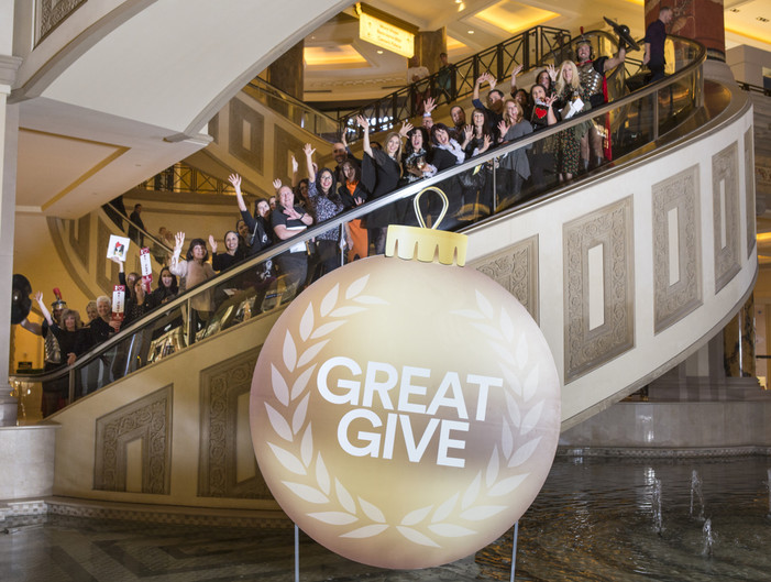 The Forum Shops at Caesars Palace + CLASS Team Up for Third-Annual GREAT GIVE in Support of Various