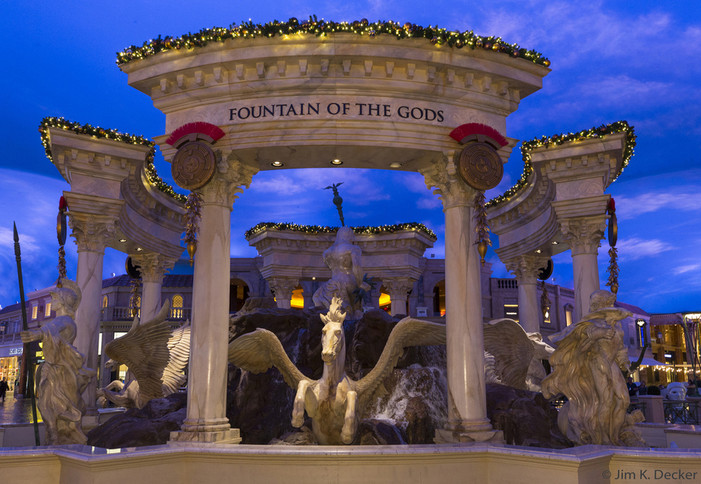 Happy Holiday Shopping at The Forum Shops at Caesars Palace