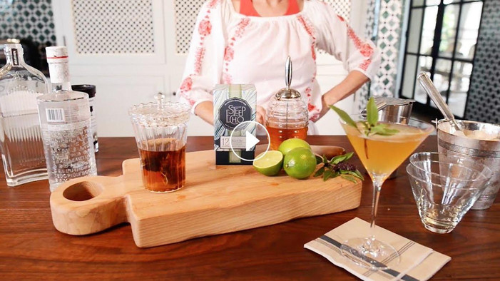 Steep Echo Tea Launches Boozy Summer Stir, Shake & Sip Series