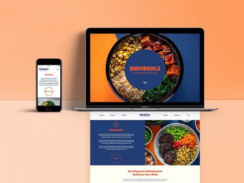 Bibimbowls web design (coming soon)
