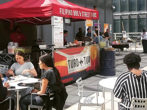 Turo Turo street food branding