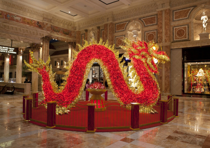 The Forum Shops at Caesars Palace Rings In Chinese New Year with Unrivaled Celebration