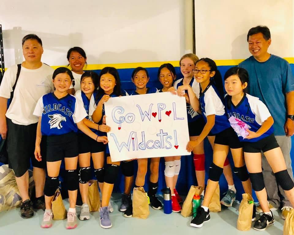WPL Wildcats 4A Girls Volleyball Team
