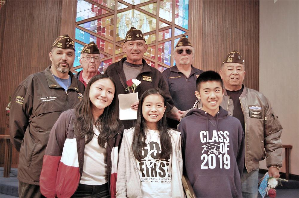 Veteran's Day - Patriot's Pen Winners