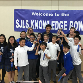 SJLS Knowledge Bowl 2019: First Place!