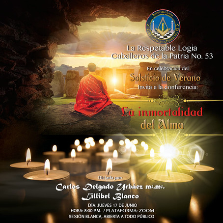 """CDLP53 celebra el Solsticio de Verano con Conferencia """"La Inmortalidad del Alma"""""""