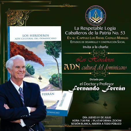 CDLP53 lleva a cabo charla Los Herederos: ADN cultural del dominicano