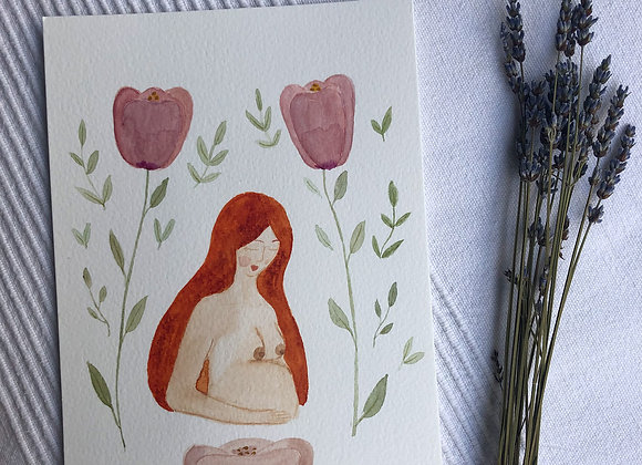 Motherhood Card - Ginger