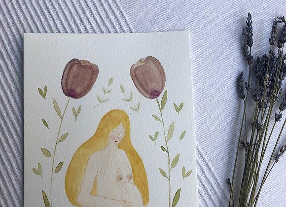 Motherhood Card - Blonde