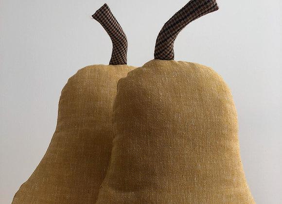 Pear Linen Pillow