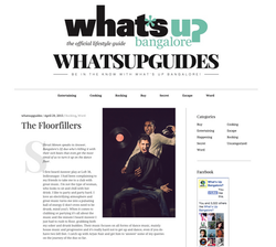 ANSWER - Interview with 'Whats up Bangalore?'