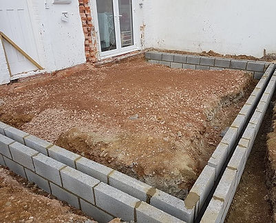 GROUNDWORKS FOR HOME EXTENSIONS WORTHING BY ACG BUILDERS