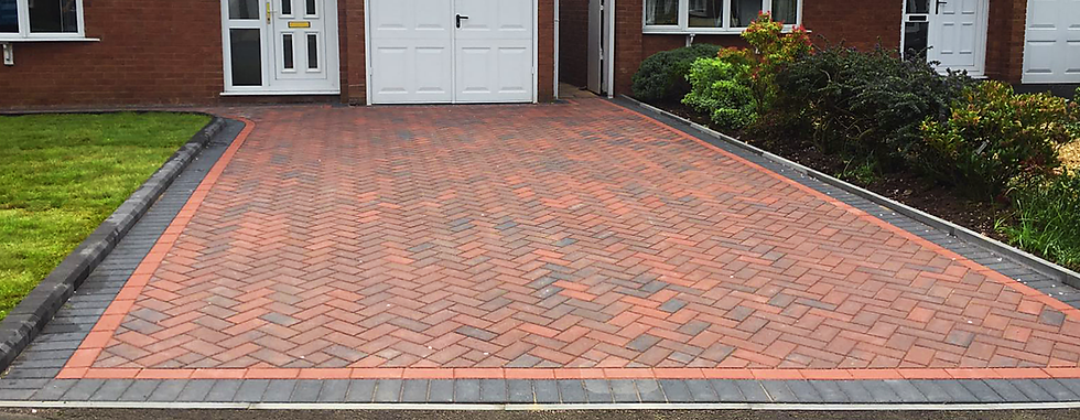 BLOCK PAVING DRIVEWAY IN WORTHING WEST SUSSEX BY ACG BUILDERS