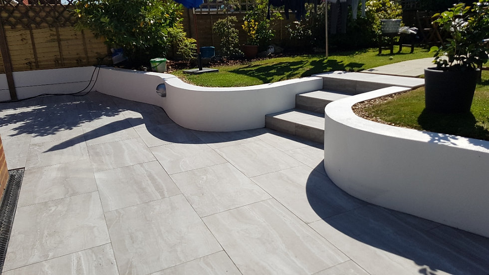 NEW GARDEN PATIO IN WORTHING, WEST SUSSEX BY ACG BUILDERS