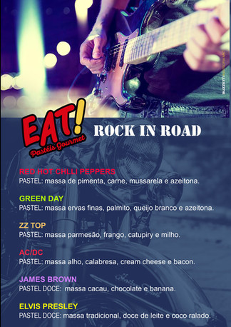 Eat Pasteis Gourmet no evento Moto Rock- Atibaia -SP