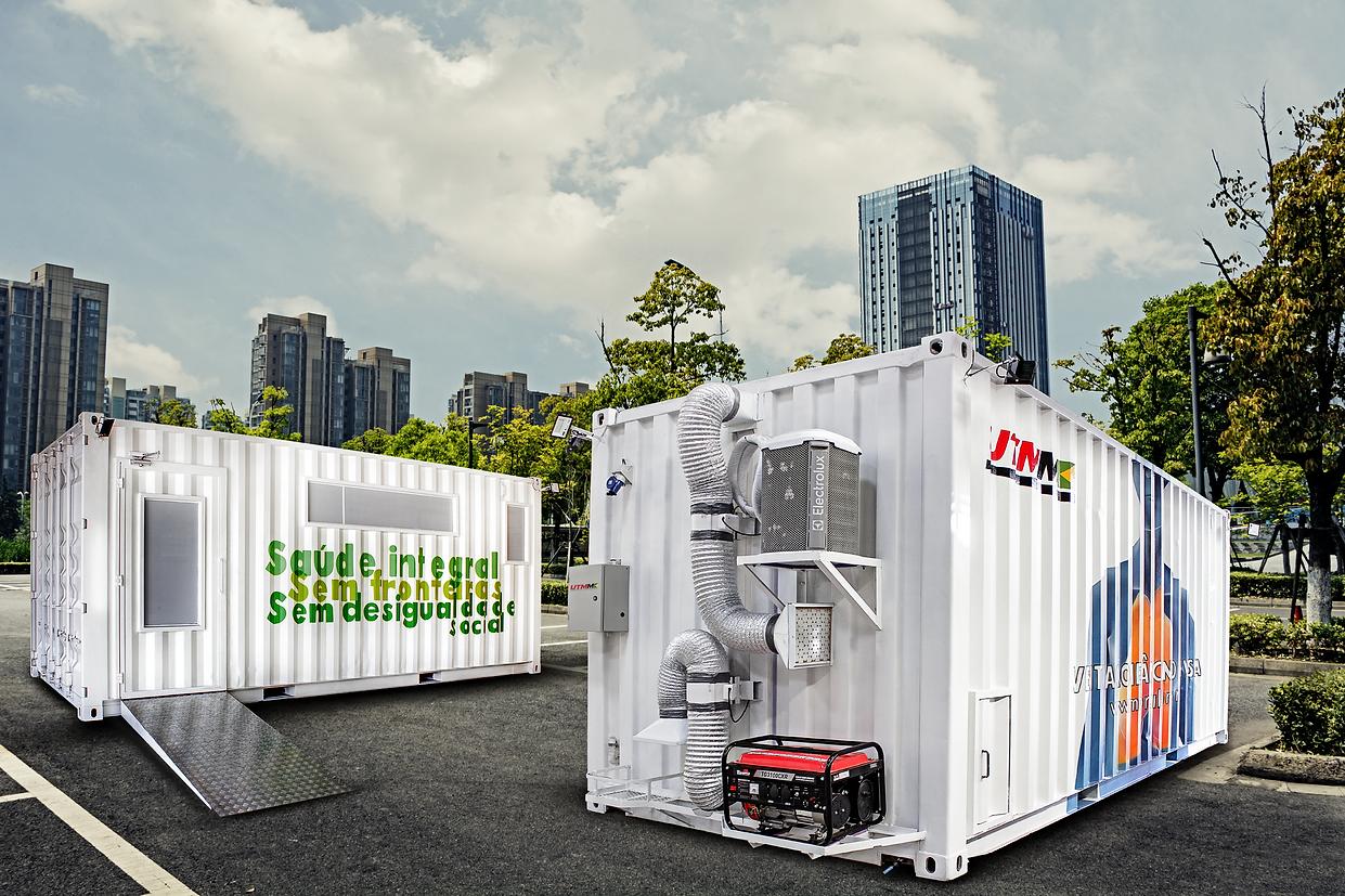 Dois Containers-Ajuste Cor-Redimencionad