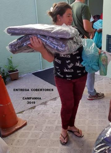 Entrega de Cobertores-G.A.I.R.- 2019