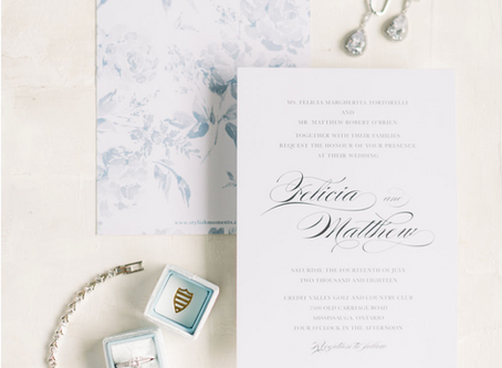 10 Tips to Planning Your Wedding Invitations
