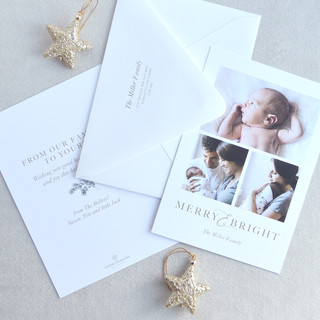 Merry & Bright Holiday Card