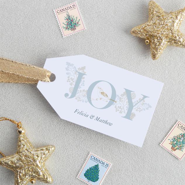 Joy Gift Tags (Horizontal)