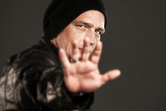 Shooting mit Torsten Sträter für sein Buchtitel