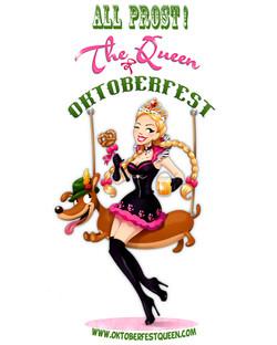 The Oktoberfest Queens Logo
