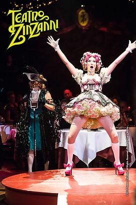 Child star in action at Teatro Zinzanni