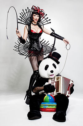 The Yodeling Dominatrix and her Panda