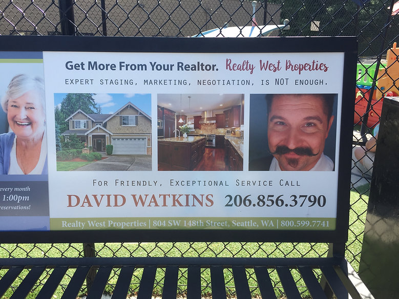 David Watkins ad at Normandy Market