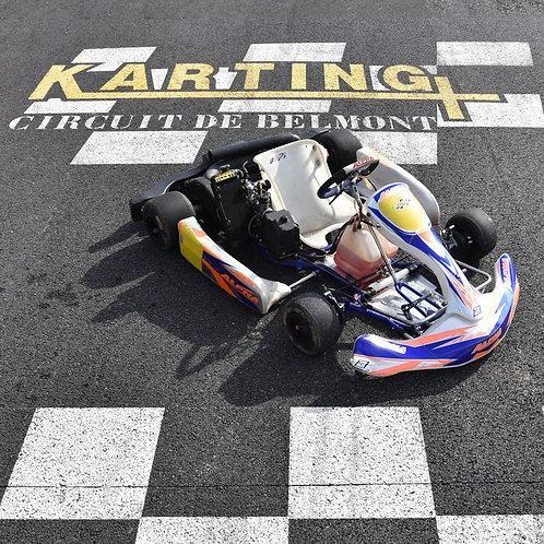 KART COMPÉTITION ROTAX MAX 125cc 2 temps à partir de 18 ans