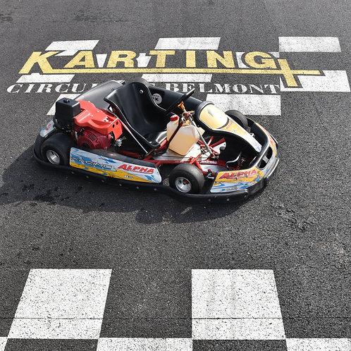 KART SEMI-COMPÉTITION 390cc 4 temps à partir de 14 ans et 1m45