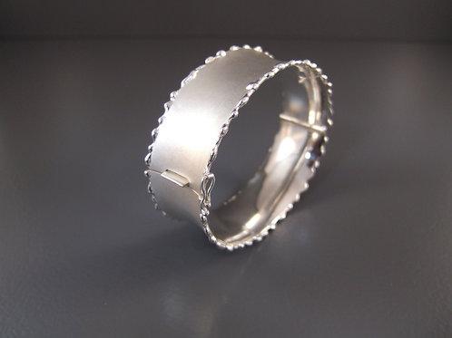 Zilveren armband met bakslot