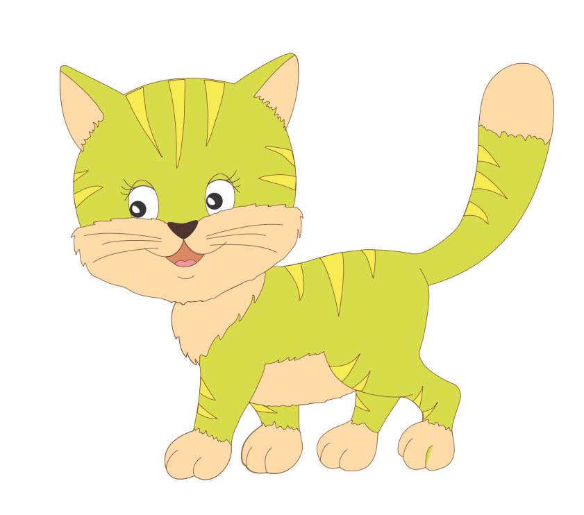котик картинка для детей