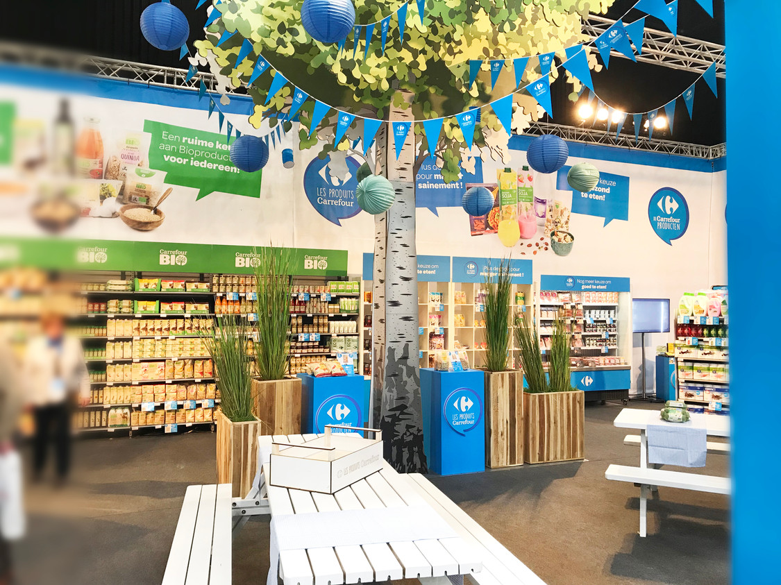 STAND CARREFOUR - Avec Carré Associates
