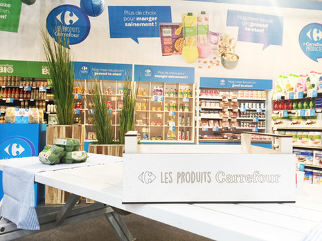 STAND CARREFOUR - Chez Carré Associates