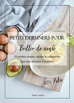 Petit déjeuner, recette, livre, Elodie Leclercq