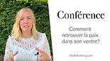 Conférence régénérer ses intestins (