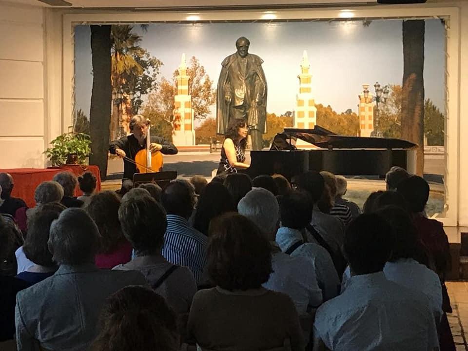 Concierto de piano y violonchelo
