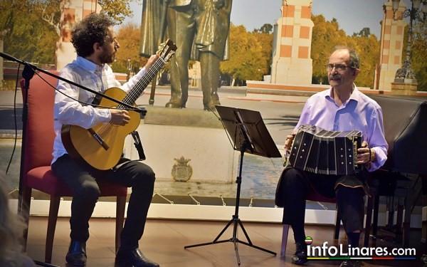 Concierto de guitarra y bandoneón durante el FIMAE, en Julio de 2021 (Foto cortesía de Infolinares.com)