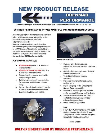 BRENMAR B61 NEW PRODUCT RELEASE rev 1.jp