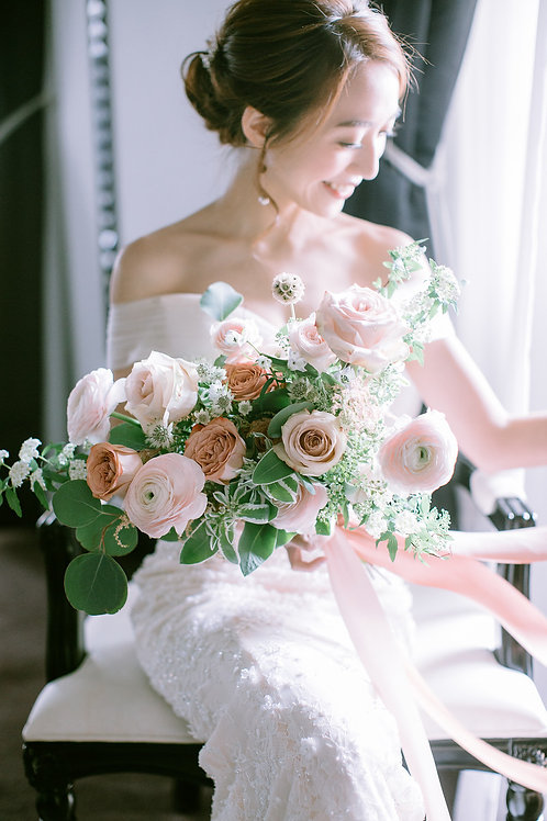Fresh Flower Bridal Bouquet